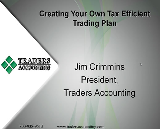 Tax Tips for Day Traders – Traders Accounting Webinar Video